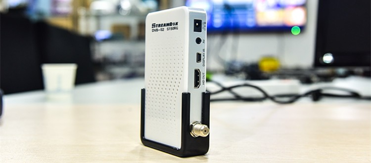 South America MINI IPTV <strong>HD</strong> DVB-S2 1080P support MPEG4 <strong>TV</strong> Receiver <strong>box</strong> open channels free via iks dvb-s2 satellite signal meter