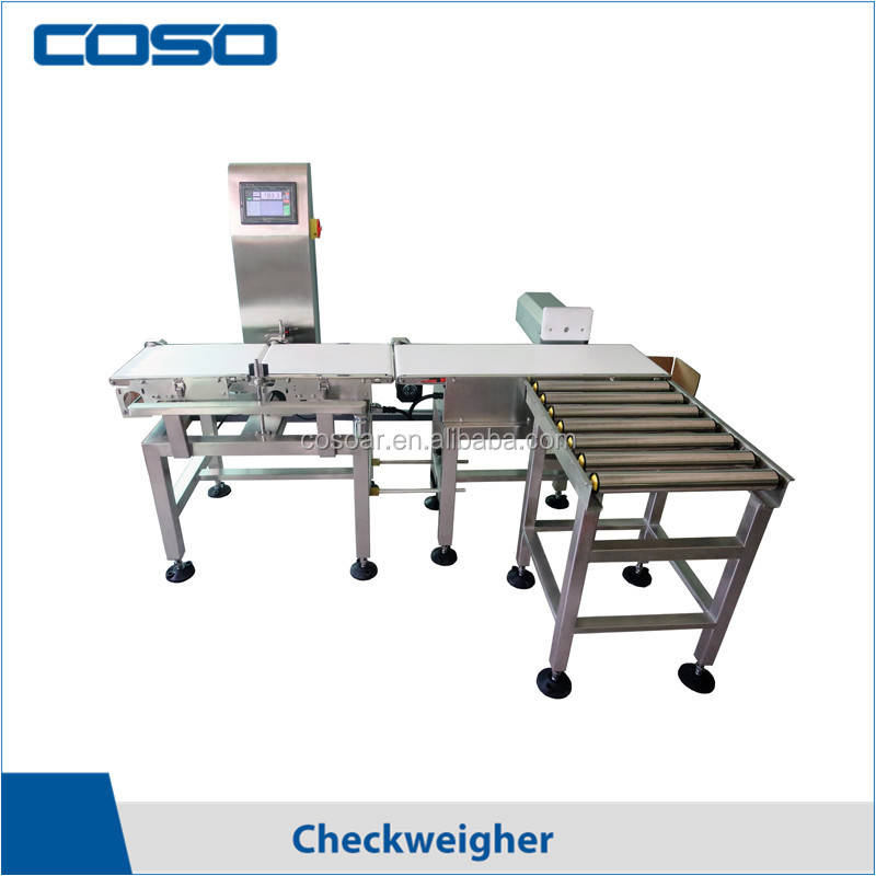 Conveyor belt automatic weighing machine for chicken feet/aquatic products