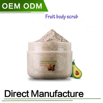 100% Natural Fruit Body Scrub