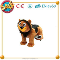 Funny toys!!! HI CE interesting high quality the lion king electric rides on horse , made in china rides for children