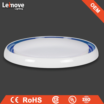 Led Round Low Profile Surface Mounted Modern Led Ceiling Light ...