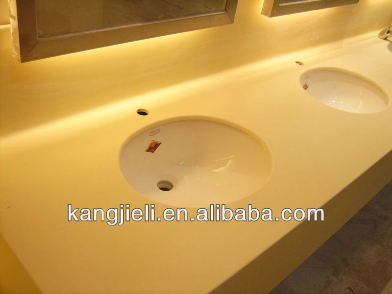 Kitchen Sink Acrylic Solid Surface Vanity Tops Table Top Work Top ...