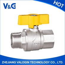 "Competitive price high technology professional 3/4"" brass gas ball valve"