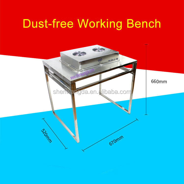 Very Light Weight Small Version Mini Dust Free Work Bench For Mobile Phone LCD Repair TBK-805