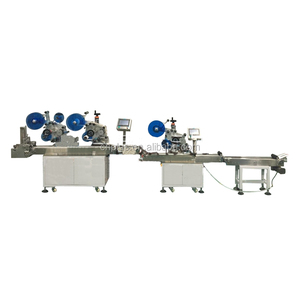 Factory high quality plastic bag labeling machine with best price
