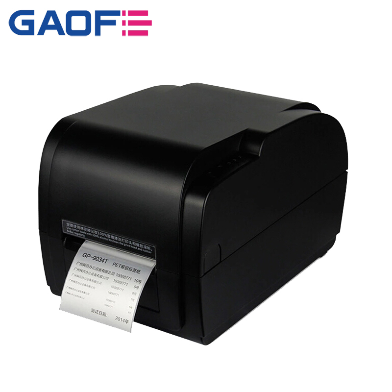 Thermal 80mm USB QR code android kiosk barcode printer Gprinter-S-4331 Thermal Transfer Label Barcode Printer RS-232 Serial