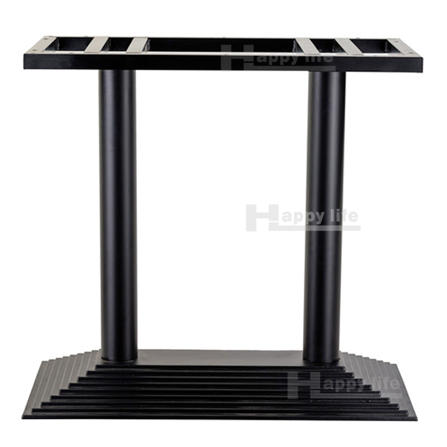 Outdoor Furniture Heavy Black Cast Iron Table Base