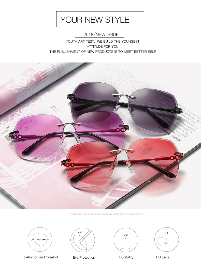 51eb07d443f 2018 woman shade glasses Polarized Sunglasses Polaroid Sun glasses 2669