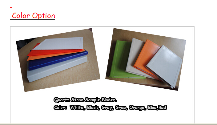PY055 Xiamen Plastic Quartz Stone Sample Binder