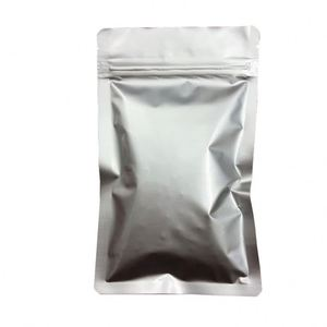 Wholesale customized available clear PE small aluminum foil bag pack for tea for dry fruit