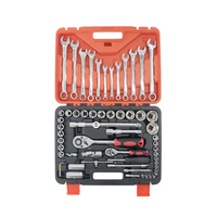 61 Piece Cr-V Socket Spanner Set in Tool Box