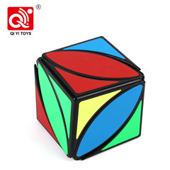 Mofangge unique smooth lines twist puzzle cube small plastic toys with OEM feature