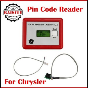 Factory price!!Top quality chrysler car key Pin Code Reader For Chrysler  Type2 3 Years quality Warranty