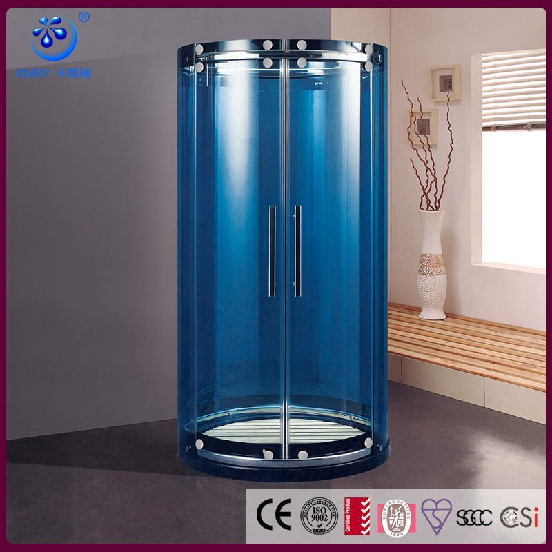 Round Curved Glass Sliding Doorsliding Shower Door With Curved