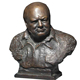 New design metal craft bronze winston churchill bust for sale