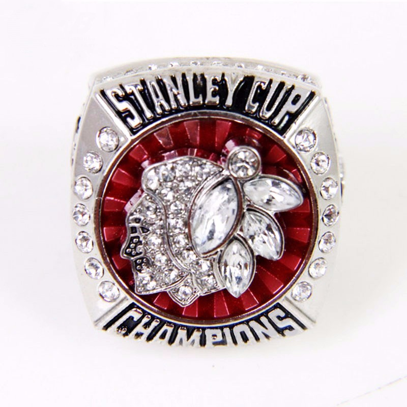 CP0038 JN 2013 Chicago BlackHawks ring Hockey championship ring for men