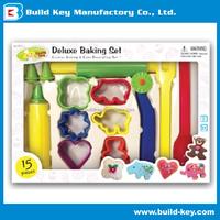TOY Cookie Kitchen Baking Pretend DIY Plastic Play Set