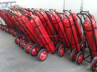 Ce Approval 45 Kg Carbon Dioxide (co2) Trolley Wheeled Fire ...