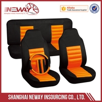 Newly trade assurance 600d zebra polyester car seat cover