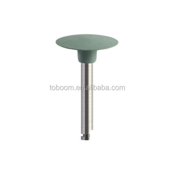 HIgh quality dental material silicone rubber polisher,SG3414 RA shank for pure titanium teeth polishing