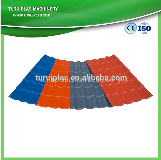 PVC roof tile roll forming production line ,roof panel roll made in TURUI