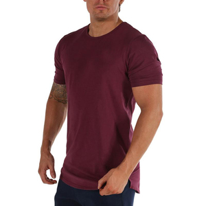 Mens 100% Cotton Short Sleeve Crew Neck T Shirts Wholesale Custom Printing Summer Out Work T Shirts Manufacturer