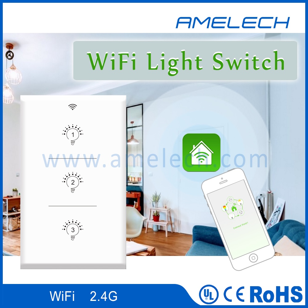 1 2 3 g 1 way app wifi wirellss controlled electric wall light switch