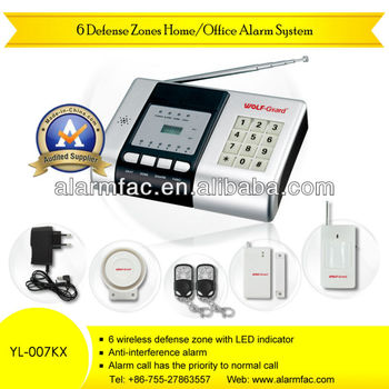 Apartment Security Prodcuts Pstn Telephone Line Wireless Anti ...