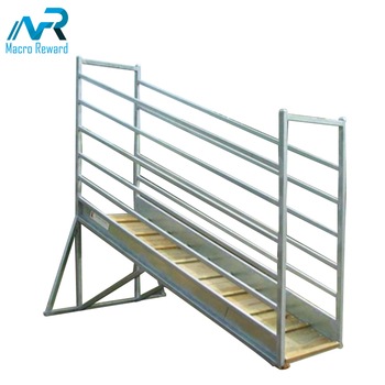 Heavy Duty Adjustable Cattle Loading Australian Galvanized Cattle Loading Ramp