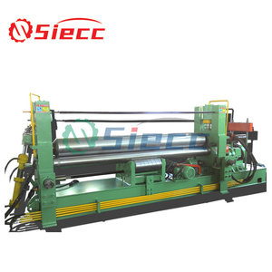 Second hand low price sheet metal bending roller machine,W11S bending rolling machine,plate and cone roller