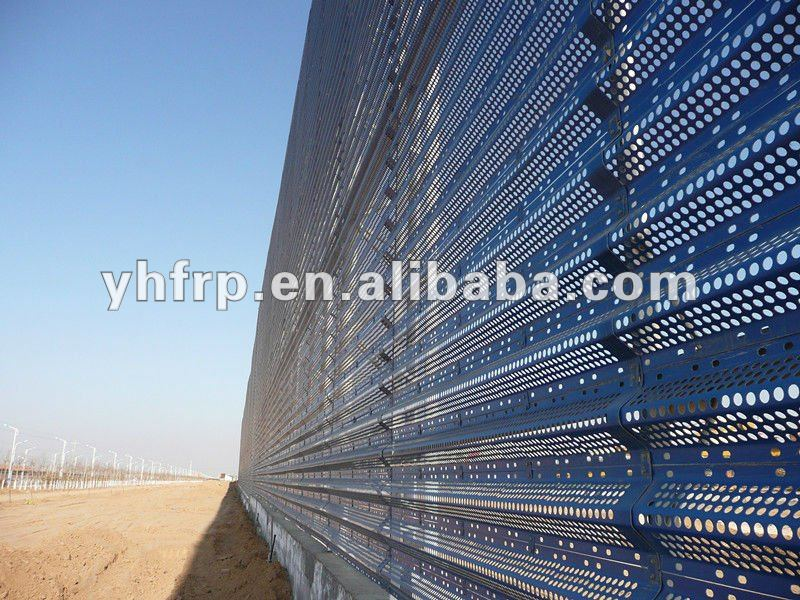 polyester reinforcement frp wind proof panel for wall use
