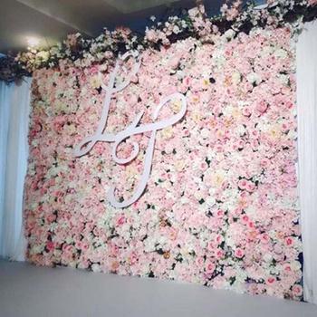 Diy Artificial Rose Flower Wall