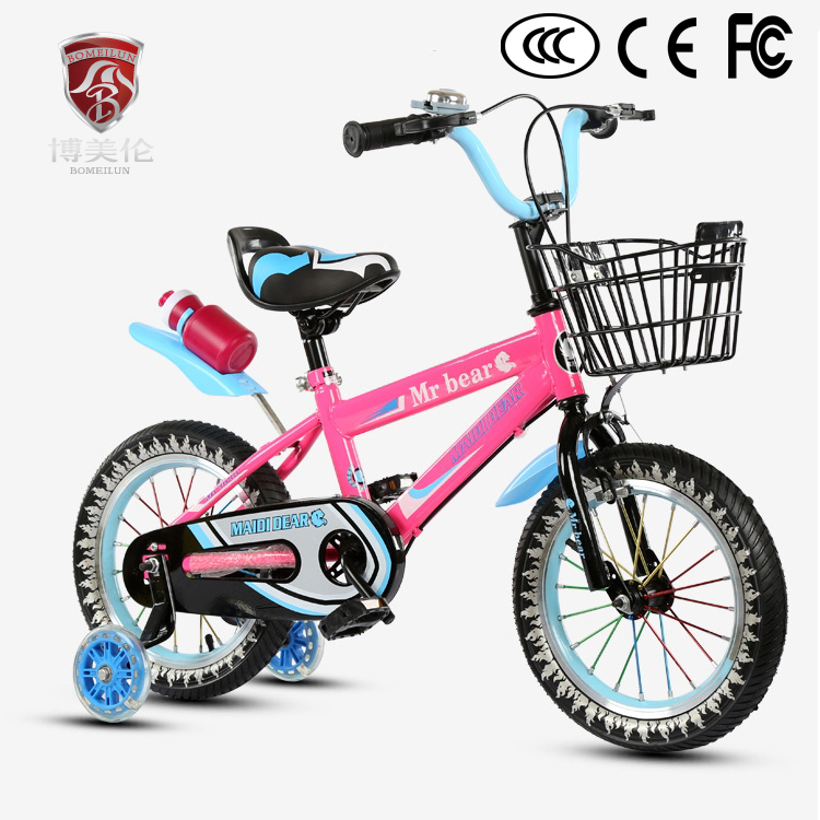 2018 new style kids <strong>cycle</strong> children bike wirh training wheels/high quality items / factory price