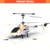 Long range 3.5 channel rc helicopter for kids