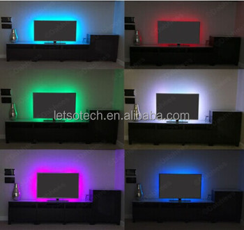 2 Year Warranty 5050 30 Bright Led Strip With Usb Cable Colour ...
