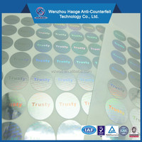 Brand protection self adhesive quality control label,quality control sticker