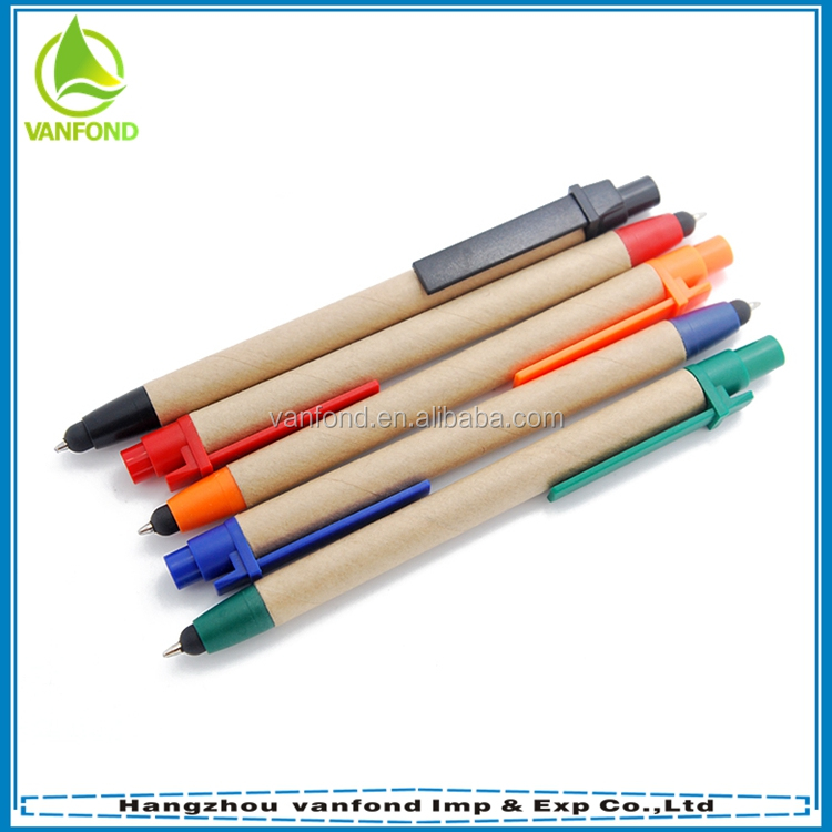 Cheap recycled paper eco smart pen for smart board