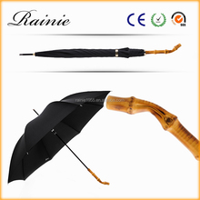 unique bamboo umbrella customized gift with gift packaging box