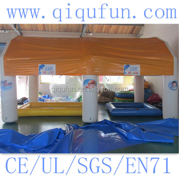 Inflatable Play Tent For kids Welding By High Heating Machine