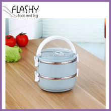 High Quality Two Layer Stainless Steel Bento Lunch Box