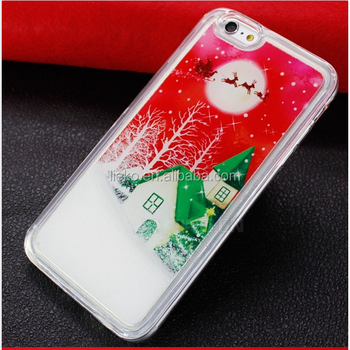 check out c165e 67bae Custom Christmas Gift Printed Phone Case For Iphone 7,7 Plus,6s,6s  Plus,Christmas Painted Soft Tpu Snow Liquid For Iphone 7 - Buy Christmas  Gift ...