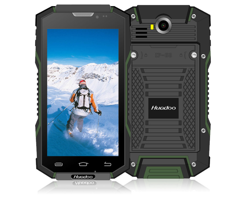 HUADOO HG06 IP68 Rugged Phone 4G Lte 2GB RAM 16GB ROM MTK6735 64Bit Quad Core 1.3GHz 13MP Android Smartphone
