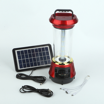 teyoza Long life time USB output led rechargeable emergency solar camping lantern outdoor