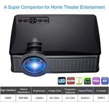 High quality Full HD 1080P Home Cinema Theater&Laptop 1200Lumens LED Wireless WIFI Mini Pocket digital Projector
