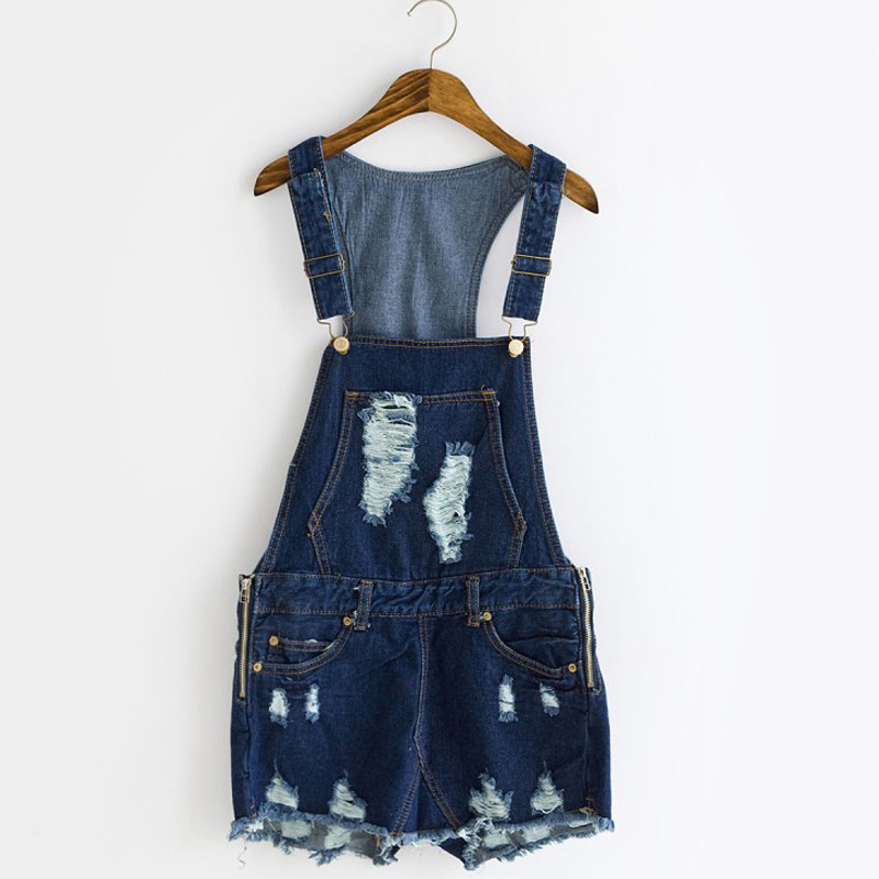 1421b9be83d6 Get Quotations · Spring 2015 Women Sexy Denim Jumpsuit Shorts Denim Overalls  For Women One Piece Jumpsuit Rompers Female
