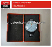 Shore A durometer hardness tester