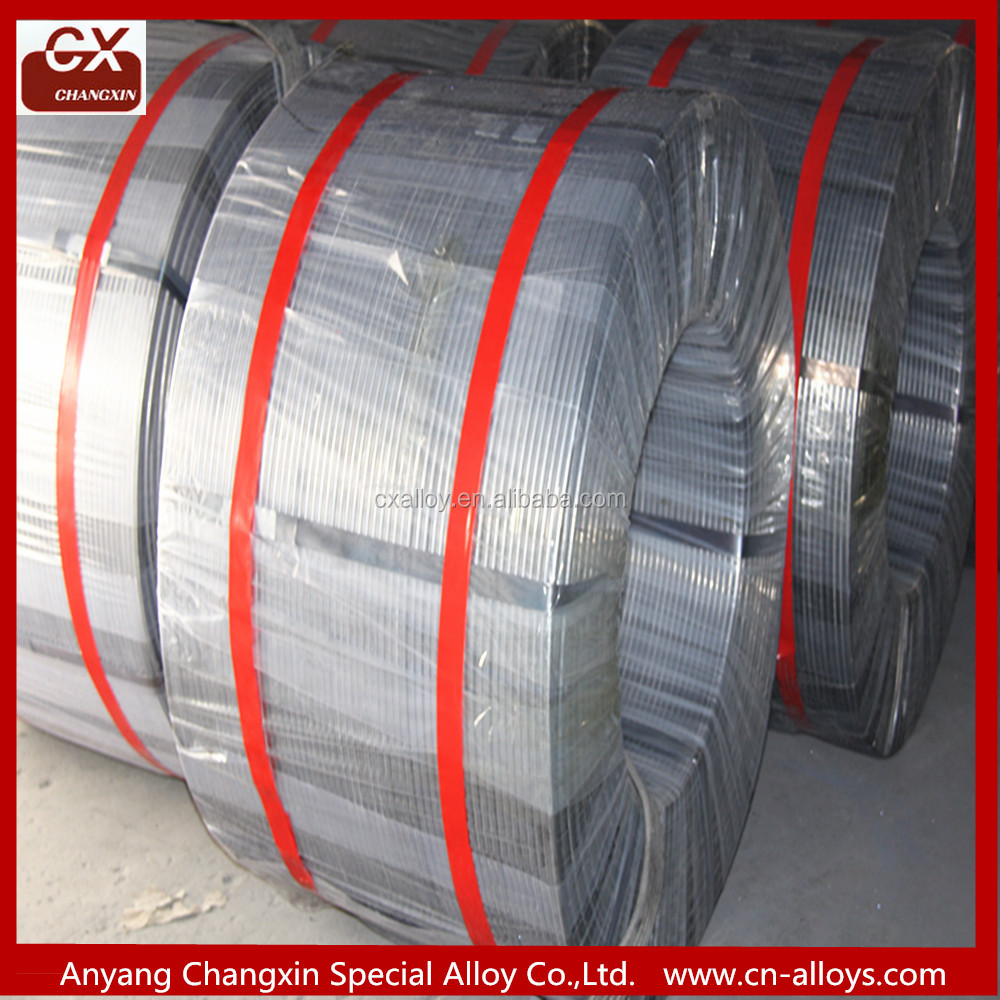 High pure calcium silicon cored wire/SGS certificate