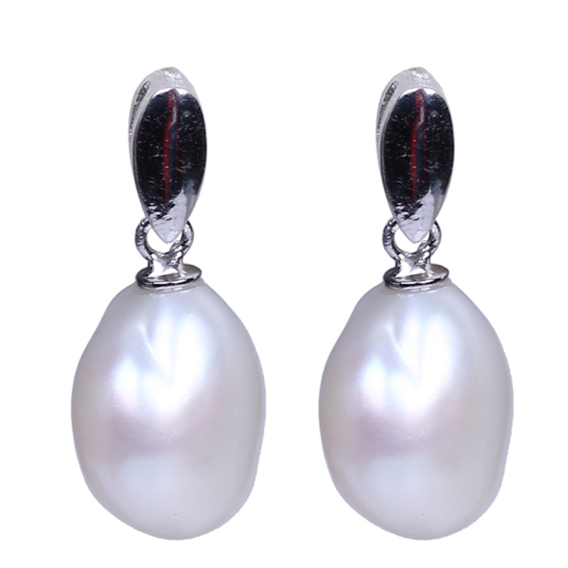 New Model Stud Finding 925 silver Pearl Jewelry Earring