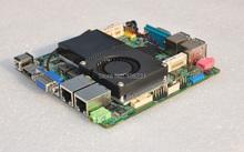 Celeron 1037u mini itx motherboard with HD MI, VGA, 2 LAN, 4 USB2.0, 1 COM Port, support DDR3 RAM and mSATA SSD, SATA HDD