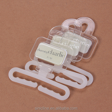 Sinicline Exported Transparent plastic clip hangers for socks
